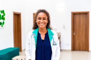 Medical Director Jenny Bouraima at Urban Care Clinic Zanzibar